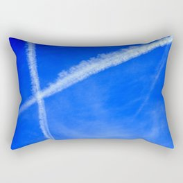 Sky Writing Rectangular Pillow