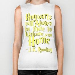 Hogwarts Biker Tank