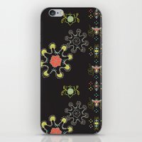 firefly iPhone & iPod Skins featuring Firefly by Nicky Ovitt