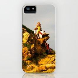 Huichol Sunset iPhone Case