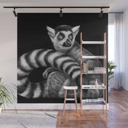 Lemur Wall Mural