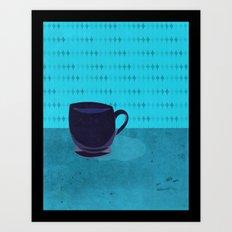 cup o' jo Art Print