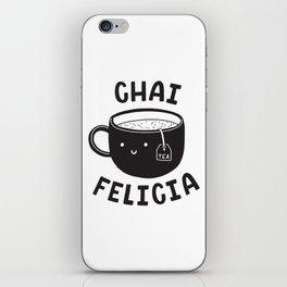 Chai Felicia iPhone Skin