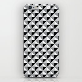 Pattern_1 B&W iPhone Skin