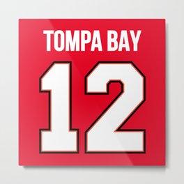Tompa Bay II Metal Print