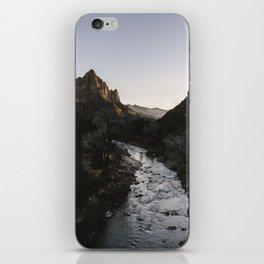 Zion River iPhone Skin