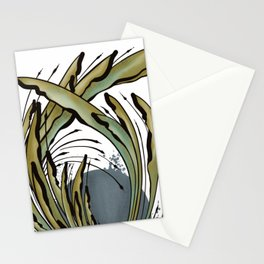 Modern Tropical Plant Design for Nature Lovers Stationery Cards
