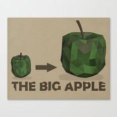 The Big Apple Canvas Print