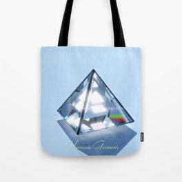Sacred Geometry - Tetrahedron Tote Bag
