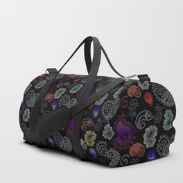 Paisleys, ornamental print Duffle Bag
