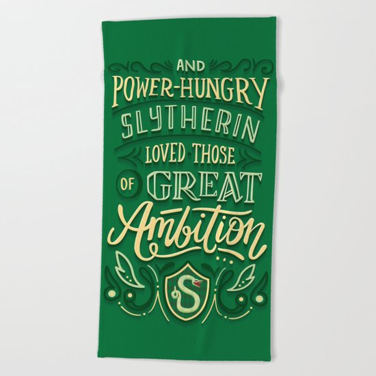 Great Ambition Beach Towel