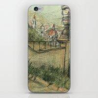 italian iPhone & iPod Skins featuring Italian Garden by Emily Dwan