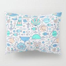 Sea pattern no1 Pillow Sham