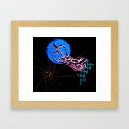 Ear Labyrinth 2 Framed Art Print