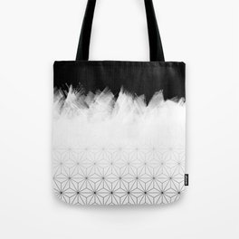 Christmas Geometric Pattern Tote Bag