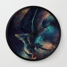 Galaxy Dragon Wall Clock