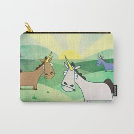 Grazing Unicorns V02 Carry-All Pouch