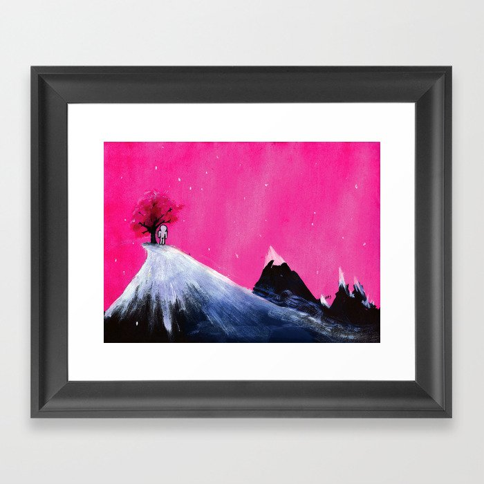 The Number One Framed Art Print