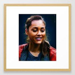 Raven Reyes - The 100 Framed Art Print