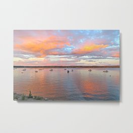 Shelburne Bay Metal Print
