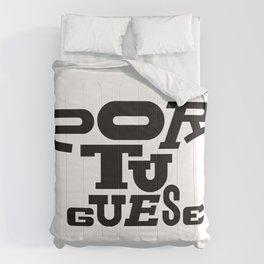 Heavy Weight Language  Comforters