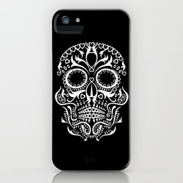 Day of the Dead Skull (2) iPhone Case