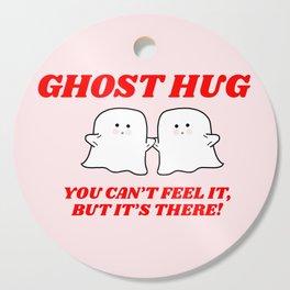 ghost hug Cutting Board