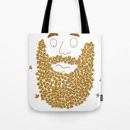 Mr Bee Beard Tote Bag