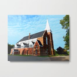 St. Paul's Church Sturgeon PEI Metal Print
