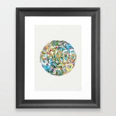 Error_ Framed Art Print
