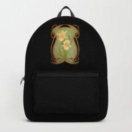 Art Nouveau Flowers Backpack