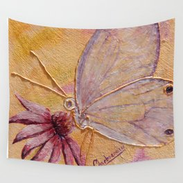 Little mirror butterfly | Petit Miroir papillon Wall Tapestry
