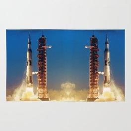 "Apollo Saturn V ""LIFTOFF"" 1967 Rug"