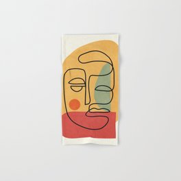 Abstract Face 20 Hand & Bath Towel