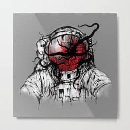 Space Parasitism Metal Print