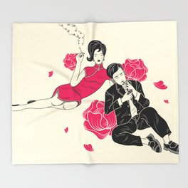 In the Mood for Love Throw Blanket