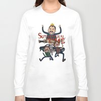 supernatural Long Sleeve T-shirts featuring Supernatural Time!  by The Kao