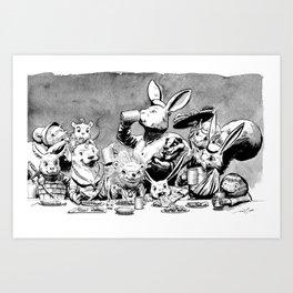 Redwall Feast Art Print