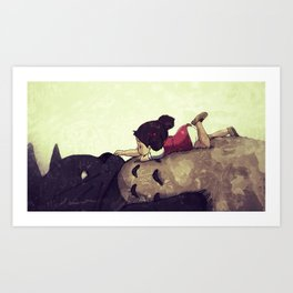 Friendship Never Ends Art Print