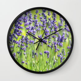 Lavender 0137 Wall Clock