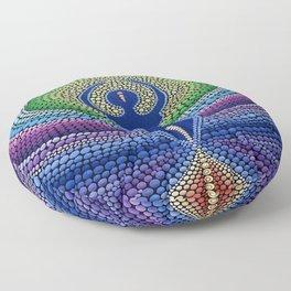 "Painting ""Goddess of fertility. Cosmos"" Floor Pillow"