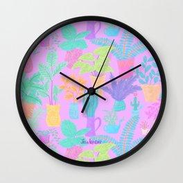Plantasia Wall Clock