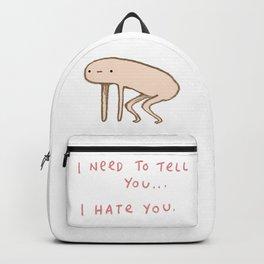Honest Blob - Hate Backpack
