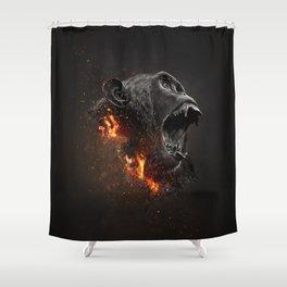 XTINCT x Monkey Shower Curtain