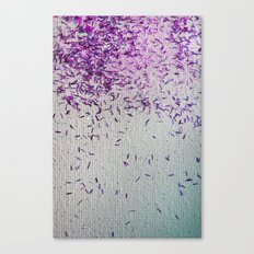 It's Raining Pink Sparkles! Canvas Print