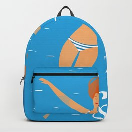 Hello Summer #4 Backpack