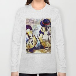 Still Life Art Of Ducks Long Sleeve T-shirt