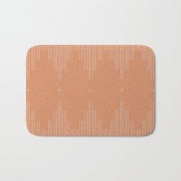 Southwestern Minimalist Terra Cotta  Bath Mat