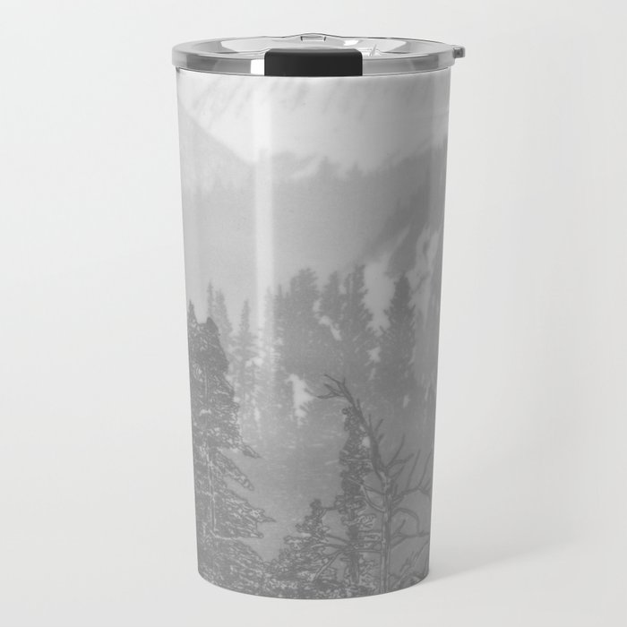 Bear in the mountains Travel Mug