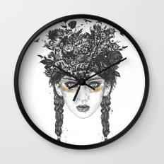 Summer Queen Wall Clock